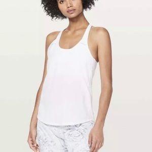 Lululemon Breezy Singlet - White (WHT) Size 6
